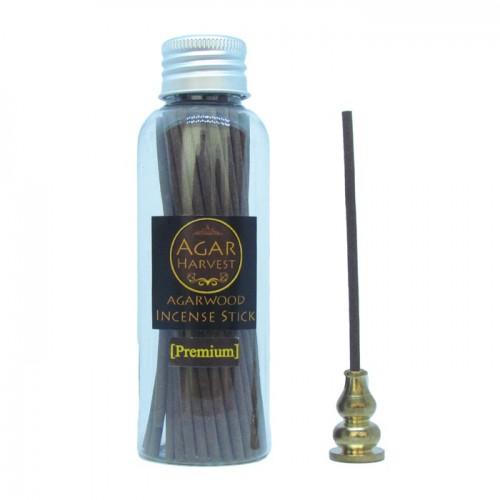 Agarwood Incense Stick (Premium Grade) 50stick + Incense