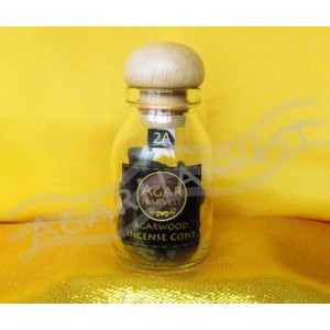 Agarwood Incense Cone (2A Grade) 12gm